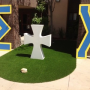 Sigma Chi UC Irvine selects NoMow Turf for backyard makeover